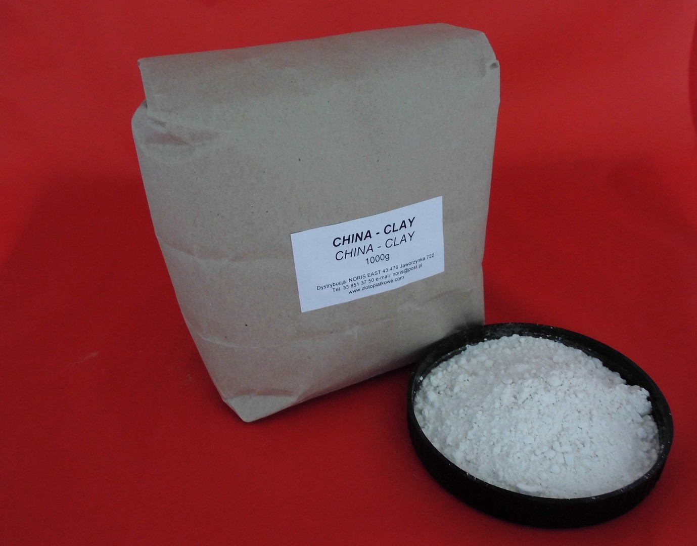 China-Clay, fine  per kg